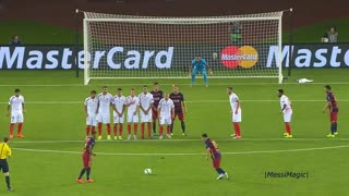 Lionel Messi ● Free Kicks in 7 Different Competitions ● NEW RECORD
