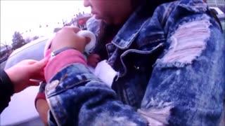 Police Officers Saves Choking Girl