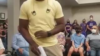 Black Dad DESTROYS CRT, The School Board Is Left Silent
