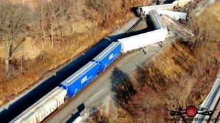 Train Derailment Northwest Indiana, near County Line Road and U.S. 12