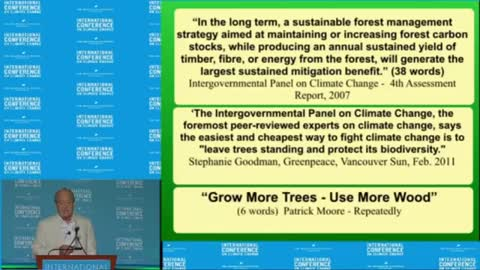 Confessions of a Greenpeace Dropout - Dr Patrick Moore