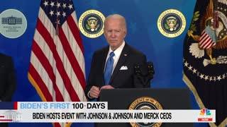 Joe Biden On Giving COVID-19 Vaccines