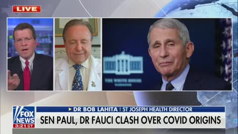 "Fox News Cavuto Defends ""Good Man"" Fauci"
