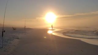 Winter Sunrise in Blue Mountain Beach