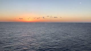 Morning Sunrise in the Caribbean