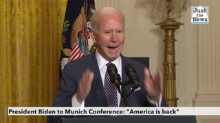 President Biden remarks at Munich Security Conference