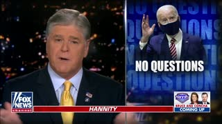 Sean Hannity TRIGGERS The Left With Rant on Biden's Gaffes
