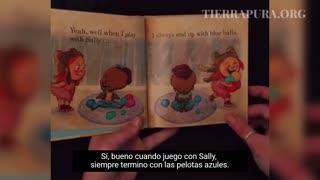 Macabro mensaje sexual en un libro de cuentos para niños