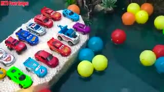 Disney Cars with Pool and Water Slide