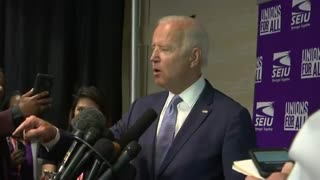 Biden tries to redirect questions about Ukraine