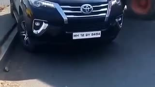 Fortuner car Indian style Indian style