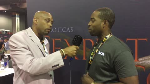 Mr Ceejay Strokes with DJ You Know WHO Exxxotica Expo Chicago IL
