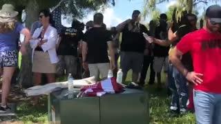 Sandford Florida protests for political prisoner's