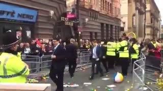 Manchester welcomes Boris Johnson 😍