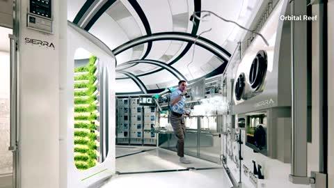 Blue Origin unveils artistic rendering of space station