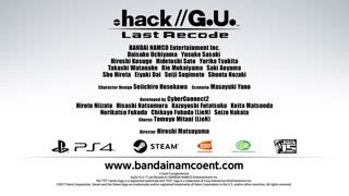 .Hack G.U Last Recode Official Announcement Trailer