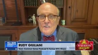 Giuliani, Navarro about DOJ corruption