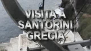 Vista general de Santorini