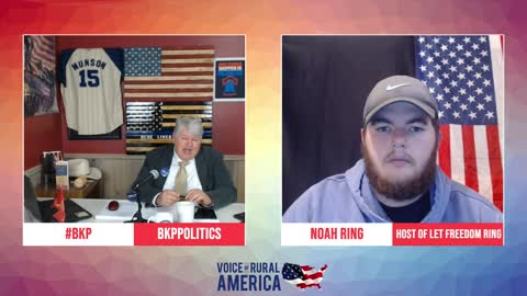 Noah Ring talks about the younger generation and political failures in America