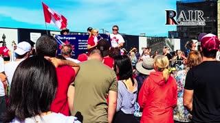 Powerful Speech at 9-18-2021 Freedom March Canada