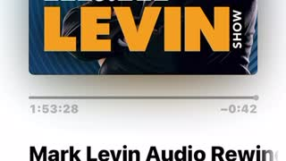 I was on the Mark Levin Show!