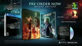 Final Fantasy VII Remake Extended Trailer with Tifa and Sephiroth - E3 2019