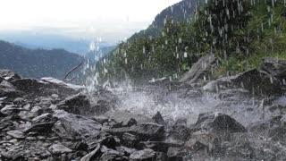 Small waterfall Romania