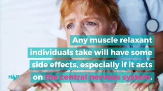 Serious Side Effects Of Muscle Relaxers