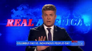 Real America - Columbus Day VS Indigenous Peoples Day