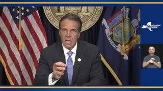 NEW YORK GOVERNOR CUOMO STEPS DOWN!