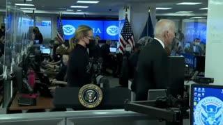 Coward Joe Biden Flees when asked about Afghanistan