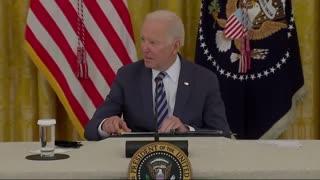 Joe Biden Smirks When He's Asked About Americans Trapped In Afghanistan...