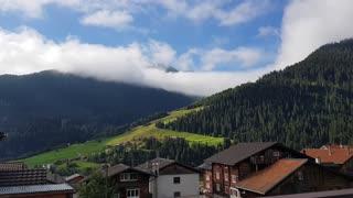 Stunning Swiss alps timelaps