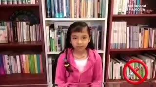 Covid 19 - Niños protestan contra el abuso de la plandemia