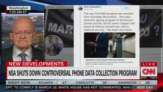 James Clapper claims he 'didn't lie' to Congress about NSA surveillance