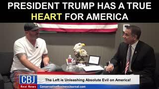 President Trump Has a TRUE Heart For America!