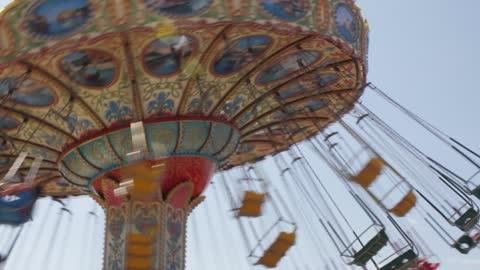 Dangerous Amusement Park Ride