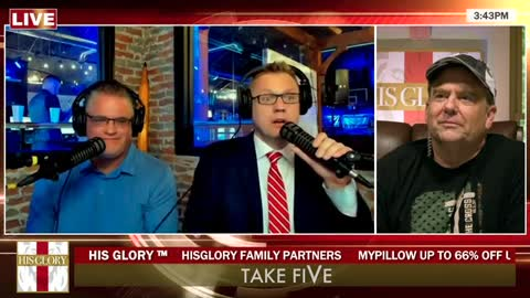 Take FiVe Afternoon September 13, 2021: Special Guests Craig Hagin & Clay Clark - 1963 Prophecy