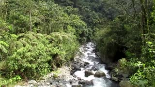 colombia - canal drone