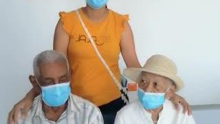 Vacunado abuelito