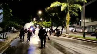 Hay disturbios en los alrededores de la UIS en la noche de este miércoles 3