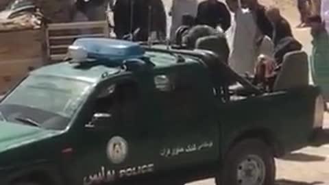 Taliban flogging screaming woman in Afghanistan