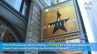 Cancel culture is targeting the Broadway Musical Hamilton