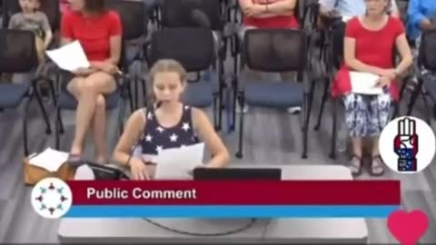9 year old calls out school board on Black Lives Matter indoctrination