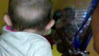 Baby vs Mirror