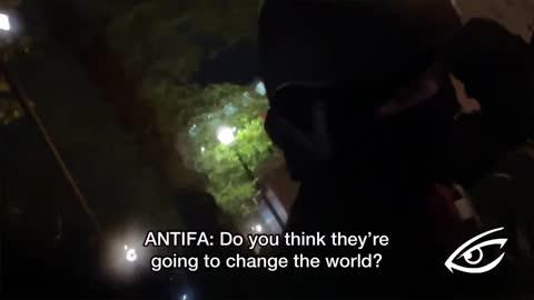"""Antifa Recorded Plotting Portland Rampage, """"Let's Burn Some S***!"""""""