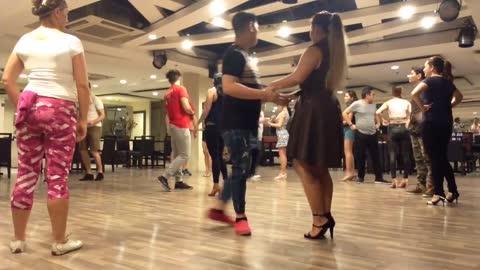 Bachata Workshop by Artia Zandian at Dancing Queen Dance Studio Makati Square
