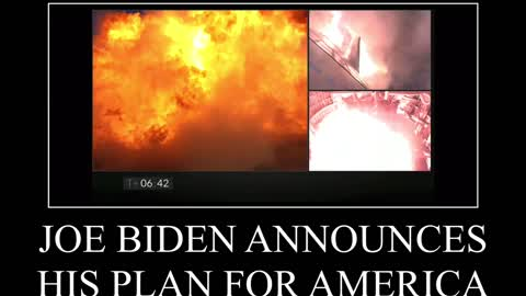 A visual representation of Biden's plan for America if he had actually won the election