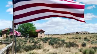 US Flags. Memorial Day