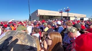 Trump Rally Crowd Goodyear, Az